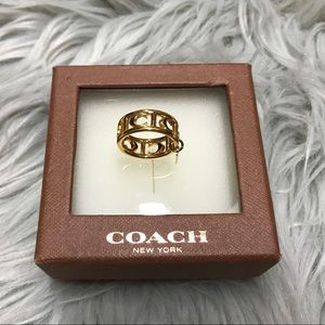 Authentic Coach Ring